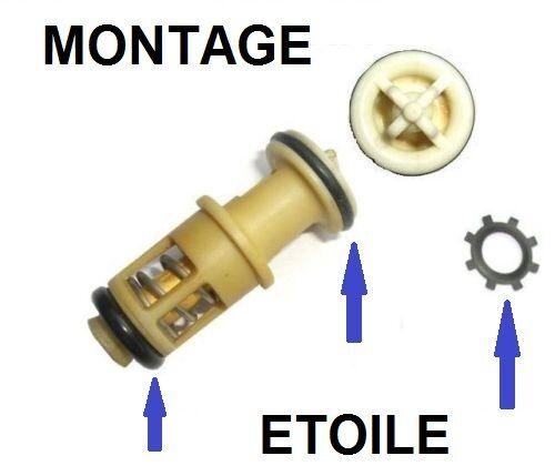 KIT REPARATION PANNE SUPPORT FILTRE GAZOIL PEUGEOT 205 AVEC MANUEL JOINTS /& CLIP