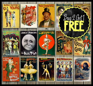 Vintage-Retro-Classic-Dance-Show-Musical-Theatre-Posters-A4-A3-A2-A1