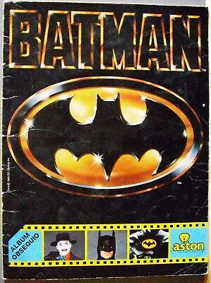 Quality And Quantity Assured Batman álbum De Cromos Completo De La Película De Tim Burton Aston 1989