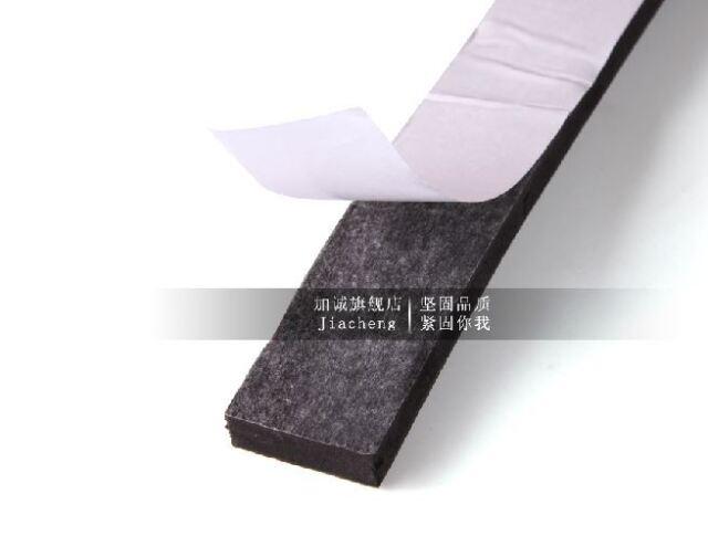 2mm Thick ( Width 5-50mm) Car Many uses Sponge Self-adhesive Sealing Foam Strips