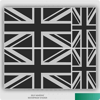 UK Great Britain Flag Country Shape Vinyl Sticker Waterproof Decal