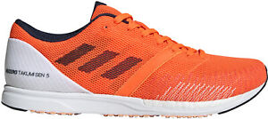 Adidas Adizero Takumi Sen Boost 5 Mens Running Shoes Black Cushioned Trainers Haute SéCurité