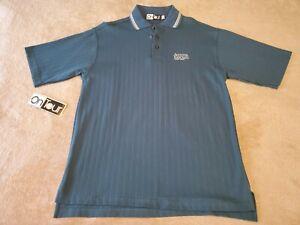 New-Vintage-Augusta-Ranch-mens-polo-shirt-size-MEDIUM-green-rare