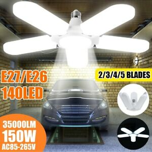 150W-20000LM-5-1-Blades-LED-Garage-Light-E27-Deformable-Shop-Ceiling-Lamp