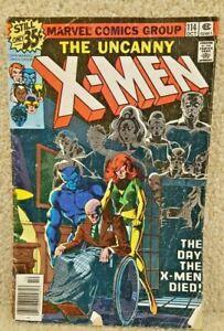 Vintage-1978-Marvel-Comics-Uncanny-X-Men-114-The-Day-the-X-Men-Died