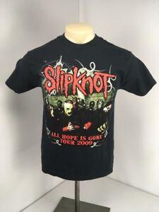 Slipknot-We/'ll End The World-All Hope Is Gone 2012 Tour-Black T-shirt
