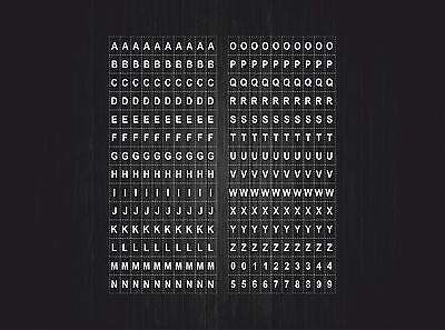 1X0,8 PLANCHE 14X10,5CM  109 AUTOCOLLANT STICKER LETTRE CHIFFRE BLEU CLAIRE DIM