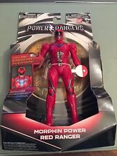 Power Rangers Movie 2017 Red Ranger 17.5H cm Figura-Light Up Morphin Red