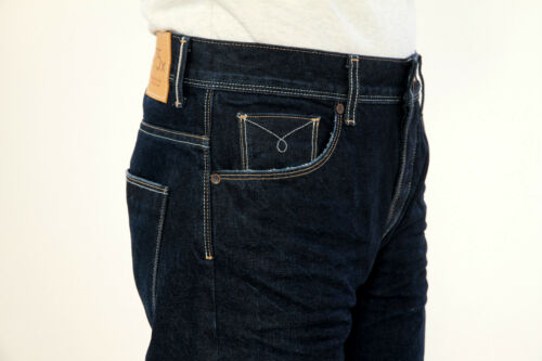 Selvedge Japanse l34 Germany Comfort In 75x Jeans Made W32 Vintage D'loop Slim zwPq5Ew