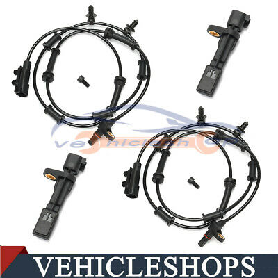 Front /& Rear ABS Wheel Speed Sensor For 07-14 Jeep Wrangler 3.6//3.8L 68003281AA