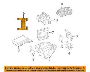 Details about MERCEDES OEM 07-11 S550 5.5L-V8-Electrical Fuse & Relay on