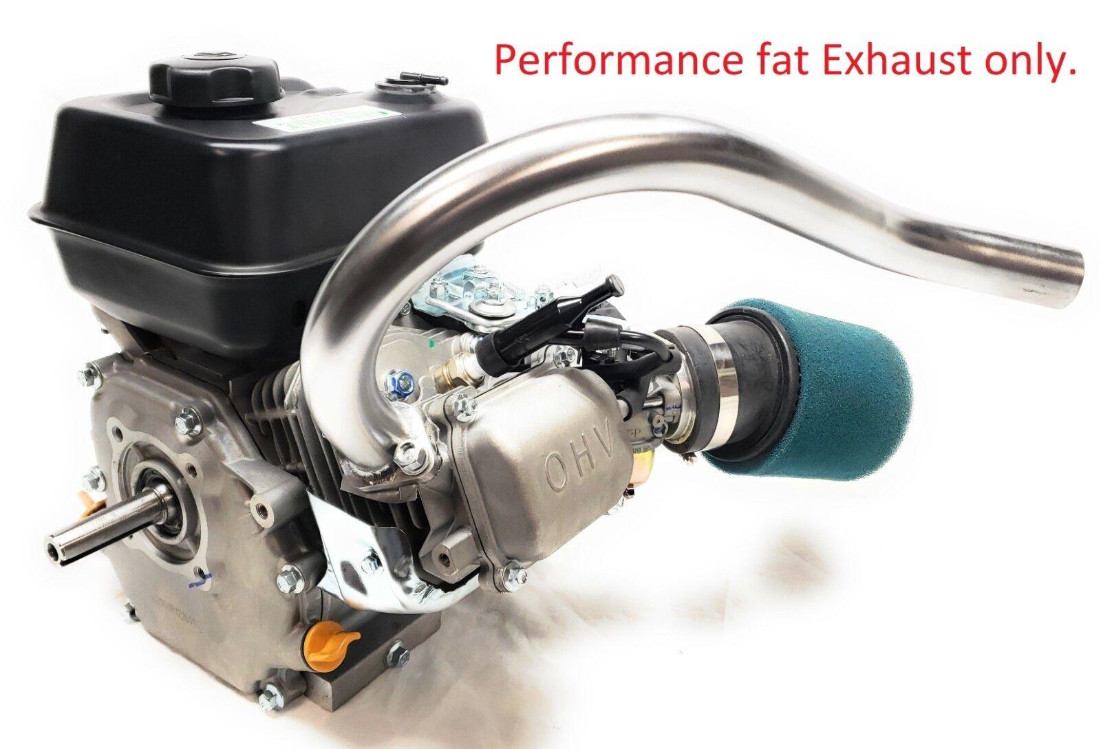 Drift Trike Performance Exhaust Header Pipe for Predator 212cc,Honda GX160,GX200