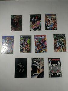 Lot Of 10 Image Comics Shadowhawk Wildcats Bloodwulf