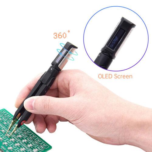 DT71 Digital Smart Tweezers Mini LCR// ESR Meter Signal Generator Diode Checker