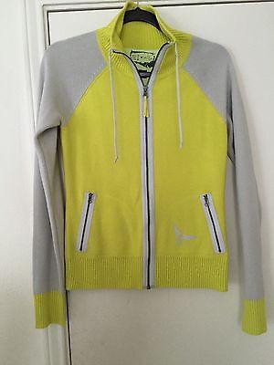 Oakley Womens Zip Front Sweater S