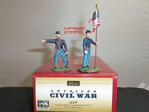 Britains 31137 Union Civile Américaine Artillerie Jouet Soldat Figure Command Set 884101311377