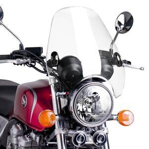 XV 950//R clair Pare-brise CW1 pour Yamaha XV 1100//125//250//535//750 VIRAGO