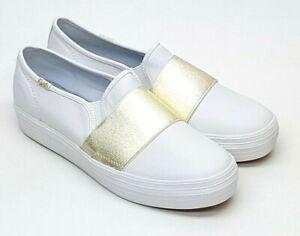 Triple Bandeau Leather White WH58046