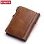 Men-Women-Genuine-Leather-Cowhide-Bifold-Wallet-Holder-Credit-Card-Retro-Purse miniature 3