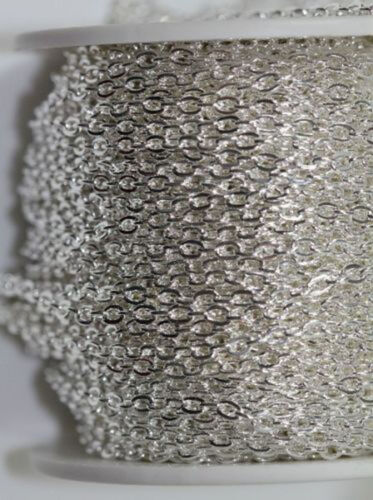 Wholesale 5//10//100M Cable Open Link Iron Metal Chain Jewelry Making Craft 3x2MM