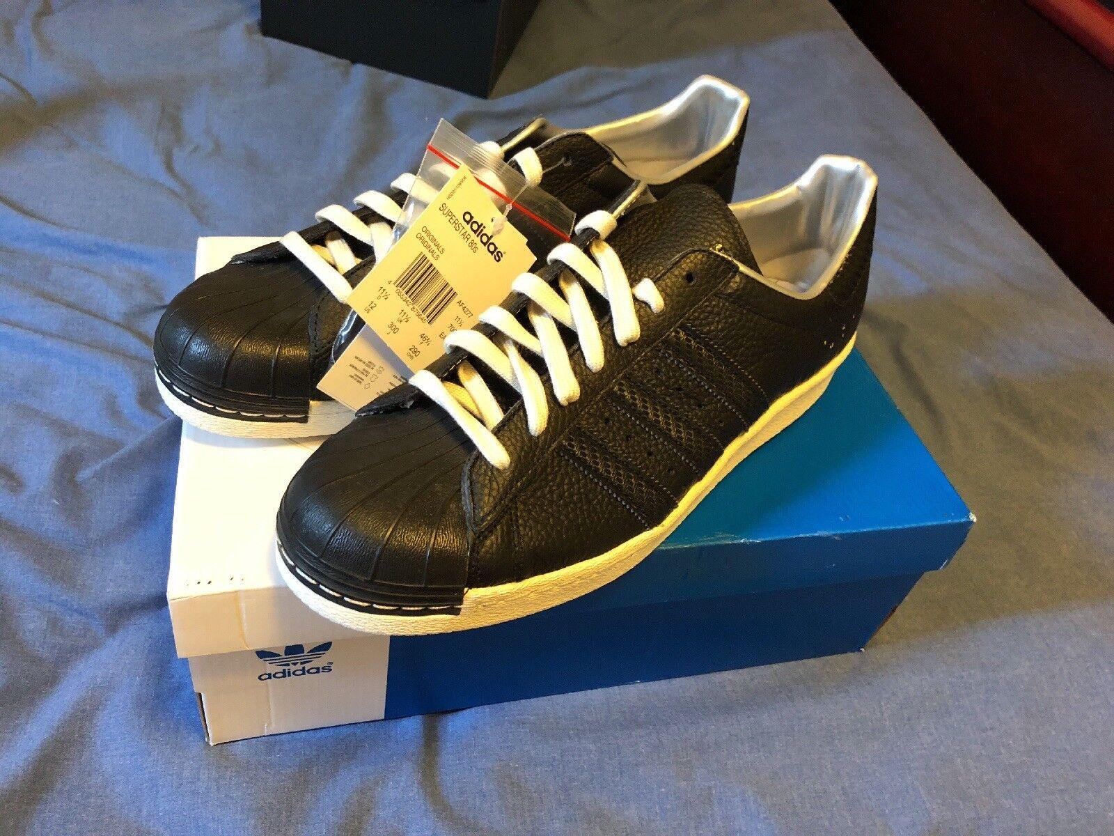 Adidas X Sneaksnsstuff Superstar 80s Camera Edition Sz 12 Limited