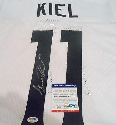 Gunner Kiel Signed Cincinnati Bearcats Custom Jersey w//PSA DNA C