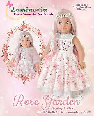 "American Girl Sugar Plum Doll Clothes Pattern 18/"" Doll Fairy Dress Holidays"