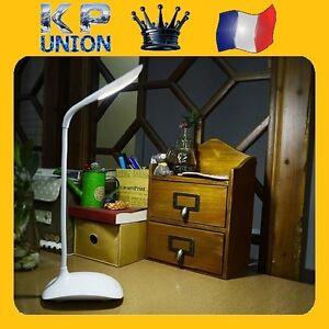 lampe de bureau usb led tactile flexible veilleuse chevet. Black Bedroom Furniture Sets. Home Design Ideas