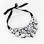 Fashion-Elegant-Women-Rhinestone-Crystal-Choker-Bib-Statement-Pendant-Necklace thumbnail 32