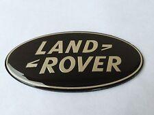 LAND RANGE ROVER SPORT LR3 FRONT HOOD GRILL EMBLEM BADGE LOGO BLACK USA SELLER!!