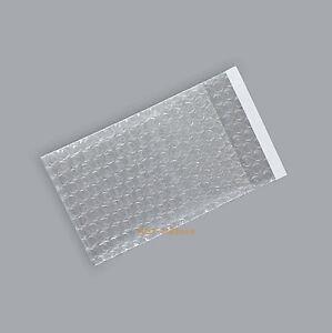 """100 Bubble Envelopes Wrap Bags 3.5"""" x 7.5""""+1""""_90 x 190+25mm_Self Sealing"""