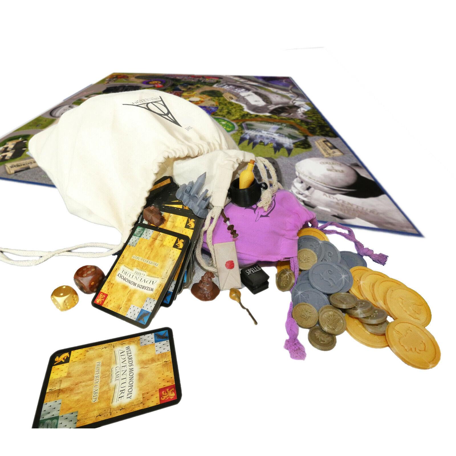 Harry Potter Adventure  gioco - Monopoly Style  offrendo il 100%