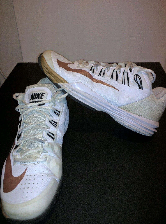 Nike lunar ballistec professional tennis shoes