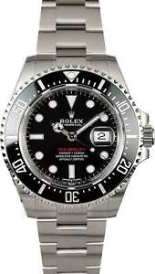Details About Rolex Red Sea Dweller 50th Anniversary Stainless Steel Ceramic 43mm 126600