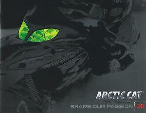New, Uncirculated * 2005 Arctic Cat Large Snowmobile Sales Brochure * MINT
