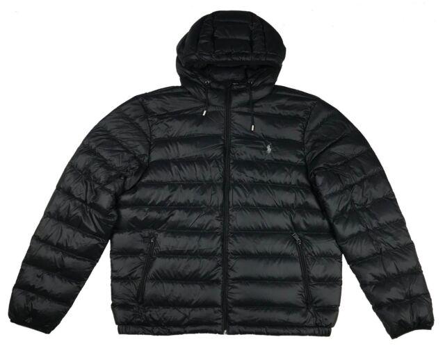 35b4b2839404 Polo Ralph Lauren Mens Packable Puffer Down Jacket Coat Black Medium ...