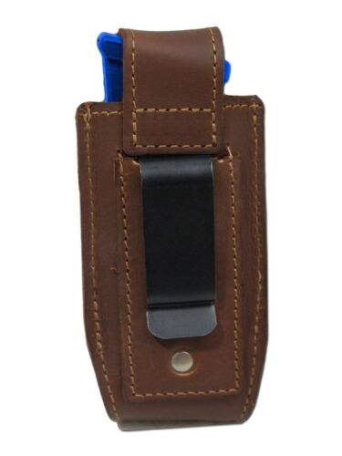 NEW Barsony Brown Leather Single Magazine Pouch Smith/&Wesson Full Size 9mm 40 45