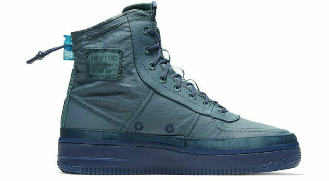 Size 7 - Nike Air Force 1 High Shell Turqouise 2019 for sale ...