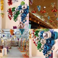 Grape Glitter Balls Baubles Christmas Tree Xmas Balls Party Decoration Ornament