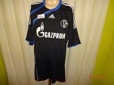 "FC Schalke 04 Adidas Ausweich Trikot 2009/10 ""GAZPROM"" Gr.XXL TOP"