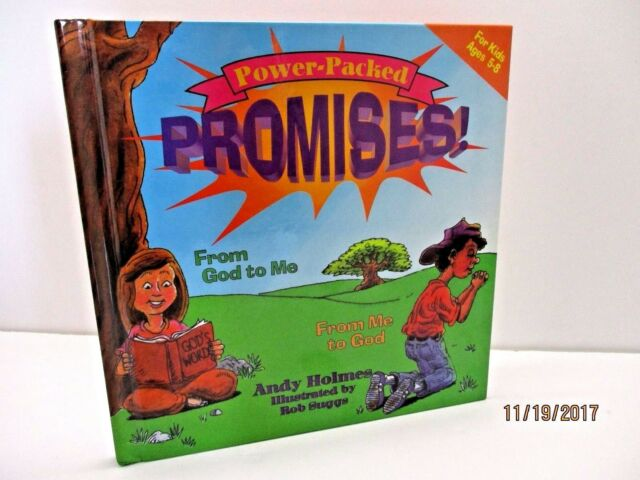 Power-Packed Promises: From God to Me, from Me to God by Andy Holmes