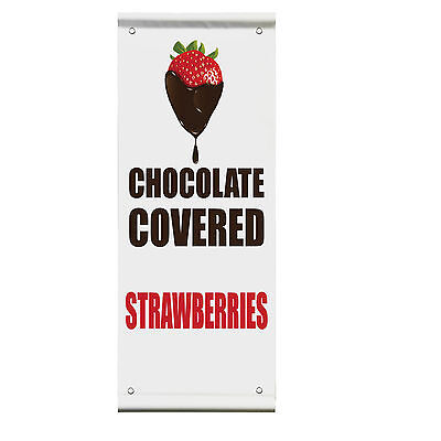 Sweet Tea Food Fair Promotion Business Double Sided Vertical Pole Banner Sign