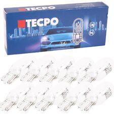 50x Glassockel Glühbirnen W5W Standlicht Kennzeichenlich Autolampe T10 12V 5W