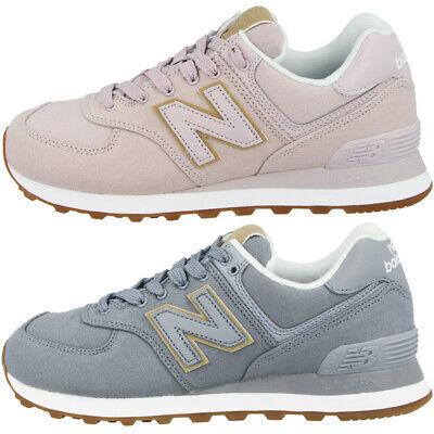 New Balance WL 574 ESS Women Schuhe Damen Sneaker light