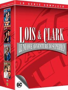 24-Dvd-Box-Cofanetto-LOIS-amp-CLARK-LE-NUOVE-AVVENTURE-DI-SUPERMAN-serie-complet