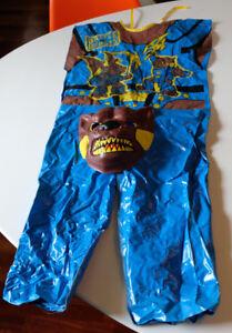 Costume d'Halloween de l'Ombre des Bêtes de Bataille de Vtg Hasbro Takara, super rare 1980