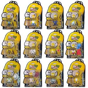 THE SIMPSONS - Homer Simpson Mania Series 3    Qee Action Figure Keychain Set (12) 5745b0
