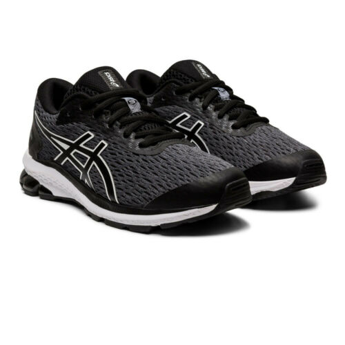 Black Sports Asics Boys GT-1000 9 GS Running Shoes Trainers Sneakers