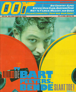 MAGAZINE-OOR-1984-nr-21-JULIAN-LENNON-GUN-CLUB-BART-PEETERS-THE-CULT