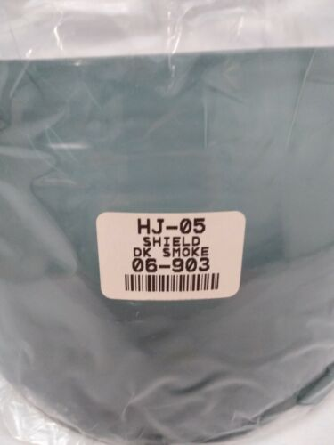 NEW HJC HJ-05 Standard Shield HHJ05G3003000 Dark Smoke 06-903